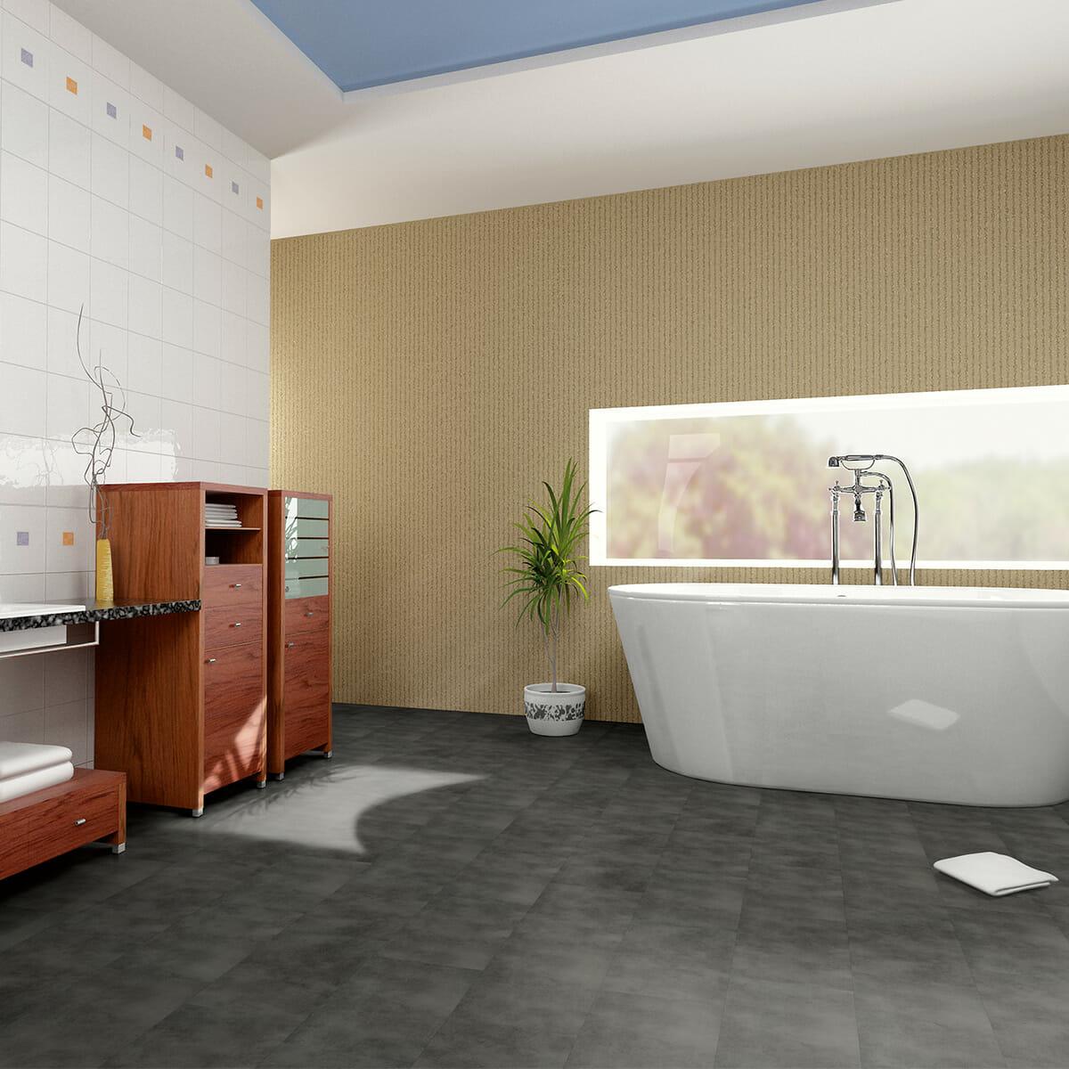 Vinylboden Bad – unsere Fliesen können Sie problemlos verlegen