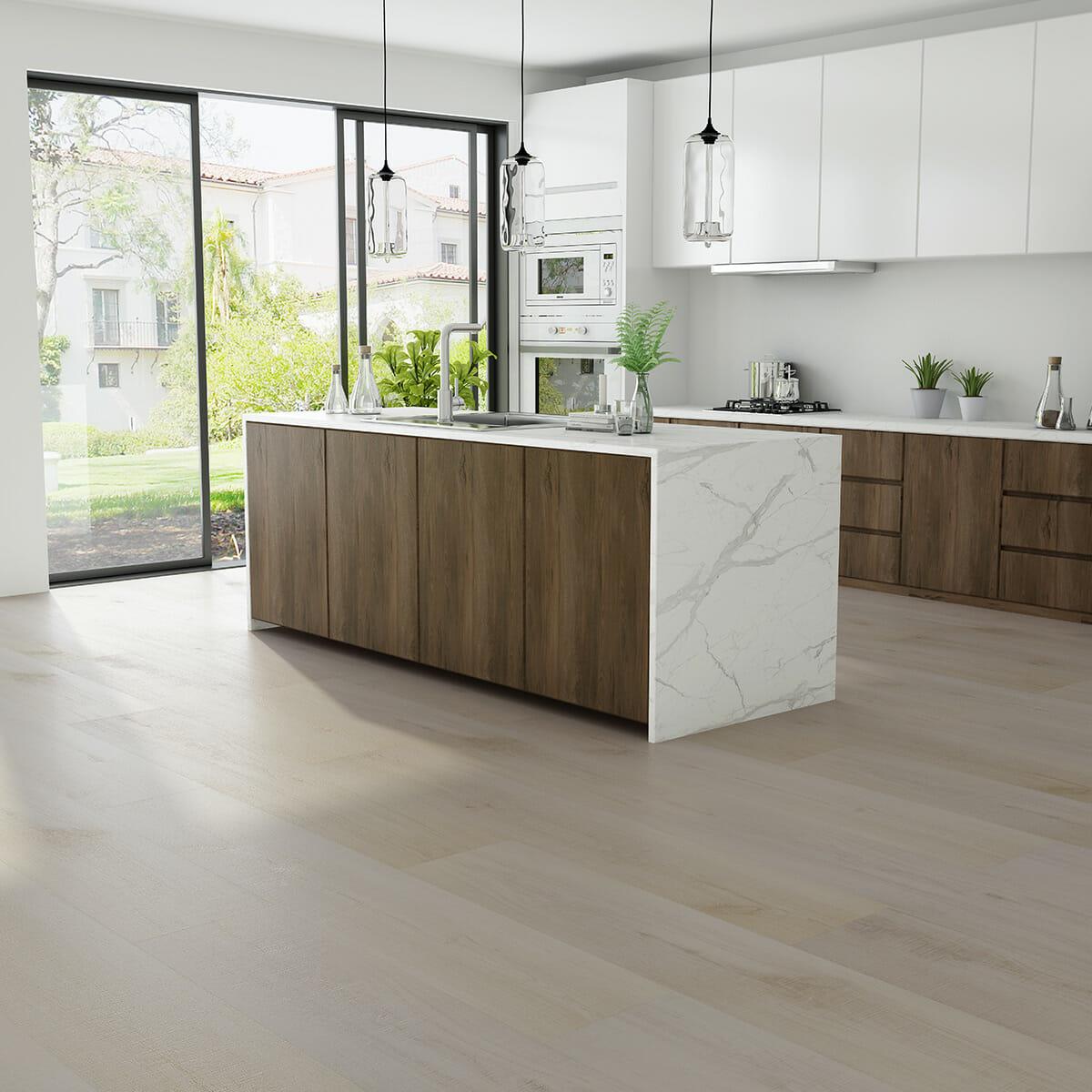 Vinylboden für die Küche – wasserresistent und robust